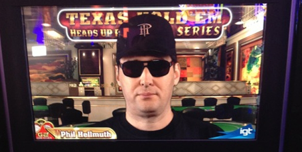 Phil Hellmuth fisso al Casinò di Venezia… in una slot machine!