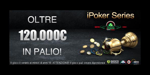 Arrivano le iPoker Series su Titanbet: tanti tornei per tutti con un montepremi garantito di 120.000€!