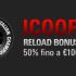 ICOOP in arrivo: sfrutta il Bonus Reload del 50% fino a 100€!