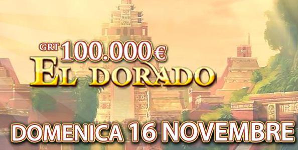 Gioca GRATIS l'Eldorado 100.000€ garantiti!
