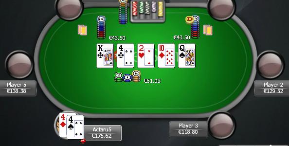"""Actaru5 e il fold con set di 4 al river: """"Ho premuto subito fast fold, cut-off poteva avere solo Q-Q"""""""