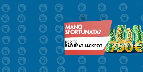 Mano sfortunata? Paddy Power ti premia con il Bad Beat Jackpot!