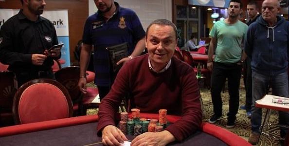 SharkBay Nova Gorica Main Event: Giancarlo Viezzi guida il final table