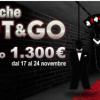 Gioca i nuovi Shot&Go di Poker Club e scala le classifiche: 1300€ in palio!