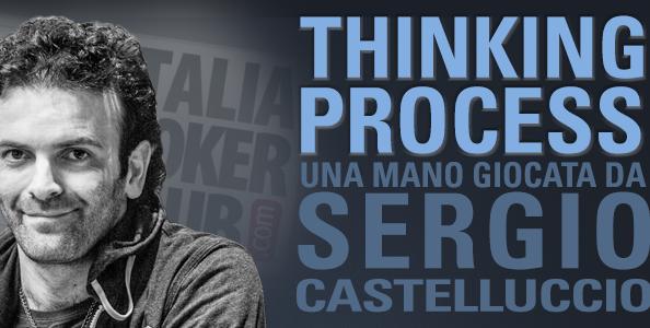 """Il check/raise river secondo Castelluccio: """"In questo spot meglio shovare che chiamare…"""""""