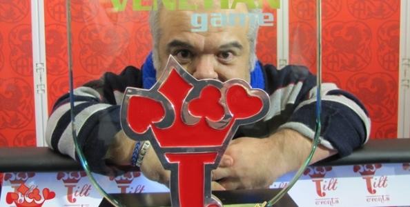 Incredibile rimonta al The Venetian Game Xmas Edition: Alessio Tallarini inizia il tavolo finale con sei bui e vince!