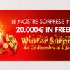 Winter Surprise su Titanbet: dal 26 dicembre al 4 gennaio 20.000€ in tornei gratuiti!