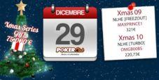 Xmas Series Poker Club: gli eventi del quinto giorno vanno a 'maxprince1' e 'omgb00bs'