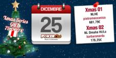 Xmas Series Poker Club Lottomatica: a 'pietromeccanico' e 'barbaranardu' i primi due eventi