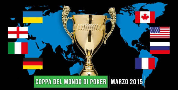 Le quote dei bookmakers per la Global Poker Masters: Canada favorito, l'Italia è data 23 a 1…
