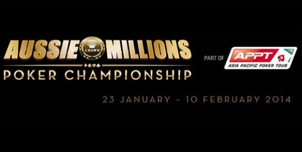 Aussie Millions 2015, Mustapha Kanit piazza la prima bandierina all'evento Shotclock Shootout