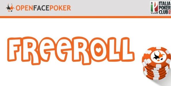 Freeroll da 100€ su Open Face Poker