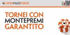 Open Face Poker: arriva il primo torneo da 200€ garantiti!