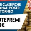 Classifiche cash game e torneo su Paddy Power: dal 19 al 25 gennaio 3000€ in bonus per poker e scommesse!