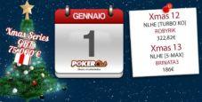 Xmas Series Poker Club: 'LABIONDA27', 'robyrik' e 'brinata3' chiudono alla grande il loro 2014