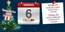 Xmas Series Poker Club: gli ultimi due eventi vanno a 'makeat2058' e 'campigotto'