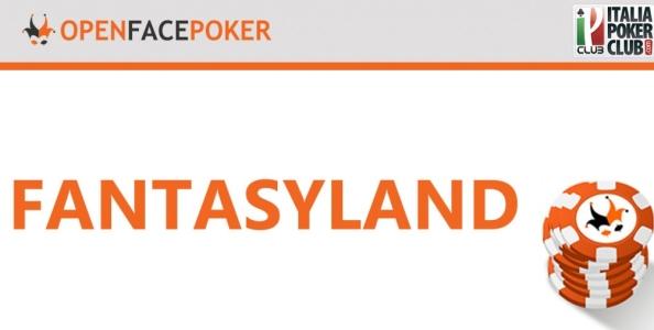 Come giocare in Fantasyland, croce e delizia dell'Open Face Poker