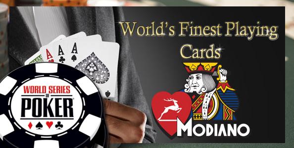 """Modiano fornitore ufficiale WSOP. Il presidente Crechici: """"Importante testimonianza al Mondo del Made in Italy"""""""