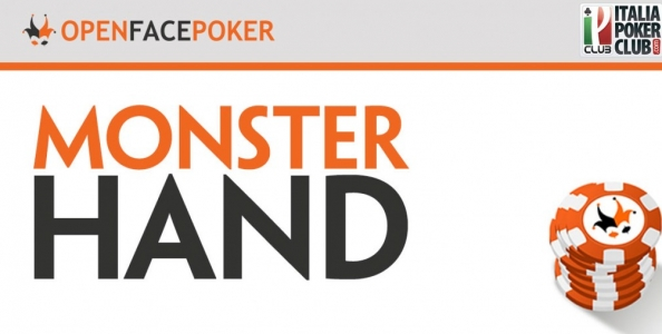 Le monster hands nell'Open Face Poker