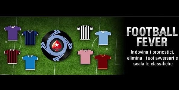 Su PokerStars.it tornano le Italian Football Fever: quattro settimane di calcio e poker con tanti freeroll!
