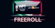Freeroll ESCLUSIVO: gioca GRATIS il WPTN Venezia