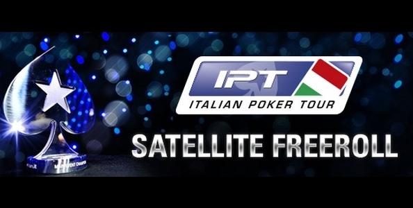 PokerStars.it lancia gli IPT Satellite Freeroll: un pacchetto in palio dopo ogni tappa!