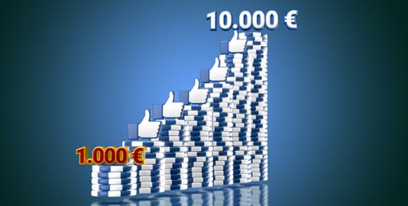 La trovata di Poker Club: un torneo col garantito che aumenta a suon di like Facebook!