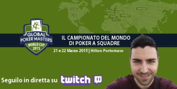 """GPI Masters, le emozioni si vivranno su Twitch! Graziano: """"Il poker si gioca una grande occasione…"""""""