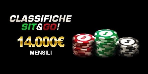 Su Titanbet Poker arrivano le nuove classifiche SNG: 14.000€ in palio ogni mese!