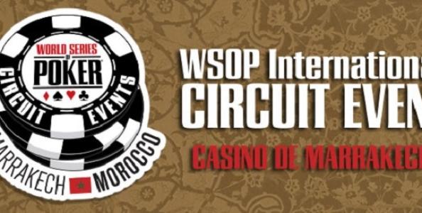 Il WSOP Circuit lascia gli States: buona la prima in Marocco!