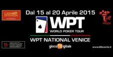 A Venezia arriva il WPT National: segui tutte le emozioni del torneo con il nostro Video Social Blog Live!