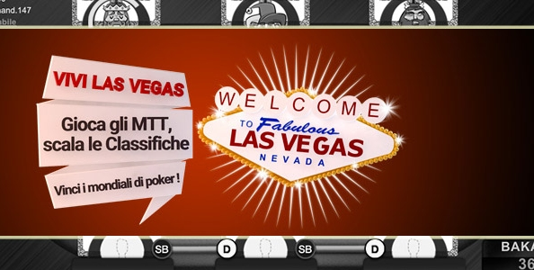 Scala le classifiche MTT di Poker Club e 'Vivi Las Vegas': in palio due pacchetti per i Campionati del Mondo 2016!