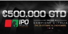 IPO 19… ecco le date! Dal 29 ottobre al 2 novembre per 500.000€ garantiti