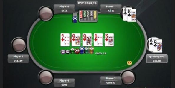 Easy call o hero call? Una mano giocata da 'quattroganci' al NL400 6-max!