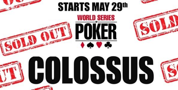 """Tutti in numeri del """"Colossus"""", l'evento di poker live più grande della storia!"""