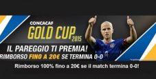 Su NetBet Sport arriva la Concacaf Gold Cup: scommetti e vinci un rimborso del 100% fino a un massimo di 20€!