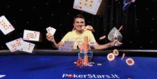 Alessandro Adinolfo trionfa a Saint Vincent: 80.000€ e picca IPT!