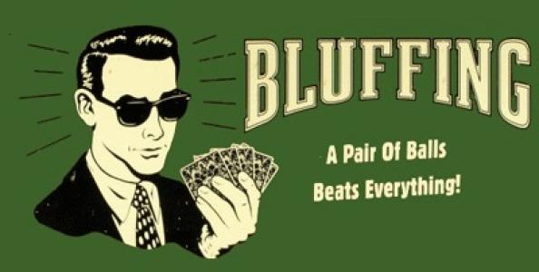 Cosa succede nel minuto successivo dopo aver piazzato un big bluff?