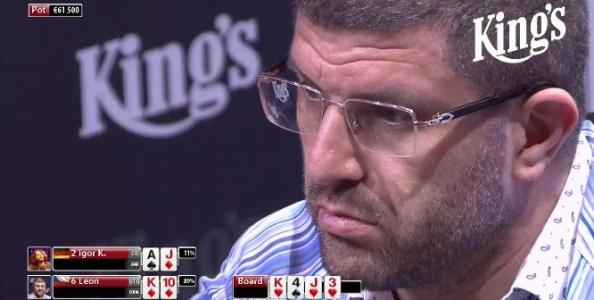 High Stakes al King's Casino di Rozvadov: il fish del tavolo chiude con un profit da oltre 450.000€!