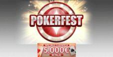 Gioco Digitale lancia le Classifiche Pokerfest: 5.000€ garantiti a settimana in ticket per il Festival di febbraio!