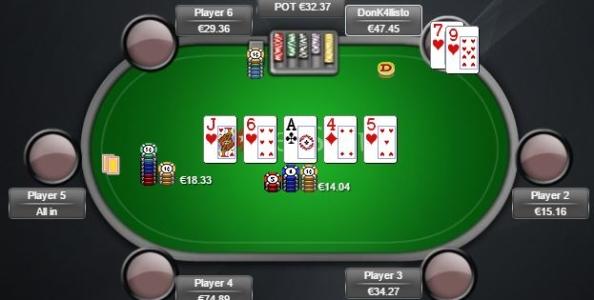 Punti di vista Cash Game (Zoom) – E' corretto foldare flush su questa action?