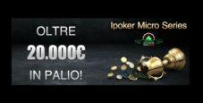 Su Titanbet arrivano le iPoker Micro Series: 14 tornei per 20.000€ garantiti!