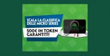 Scala la classifica Micro Series Reward su Paddy Power: in palio 500€ garantiti in token!