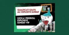 I Freeroll VIP di Paddy Power: ogni giovedì tre ticket in palio per l'Explosive Sunday!