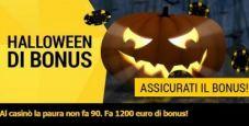 Su bwin casinò arrivano gli Halloween Bonus: in palio fino a 1200€ in bonus!