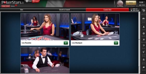 Il casinò di PokerStars amplia l'offerta: croupier live per la Roulette e il Blackjack!