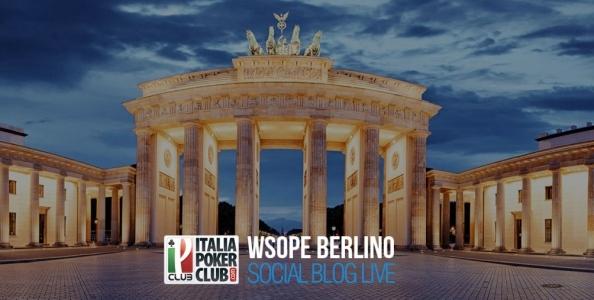 ItaliaPokerClub vola a Berlino: segui l'avventura italiana alle WSOPE con noi!