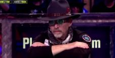 "Le mani del ""suicidio"" di Neil Blumenfield 3 left al Main Event WSOP"