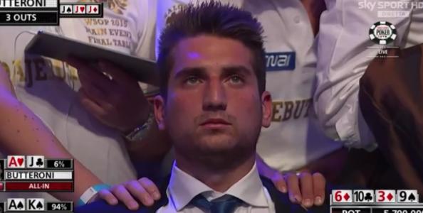 """Federico Butteroni out ottavo dal Main Event WSOP: """"Nessun rimpianto, non ho avuto spot favorevoli!"""""""