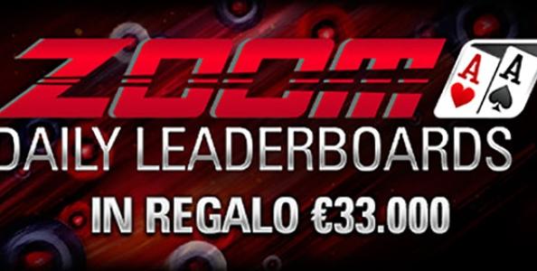 Una settimana da urlo su PokerStars: 33.000€ in palio ai tavoli Zoom